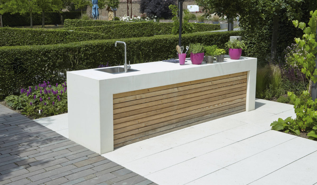kochen im garten grills und outdoor k che. Black Bedroom Furniture Sets. Home Design Ideas